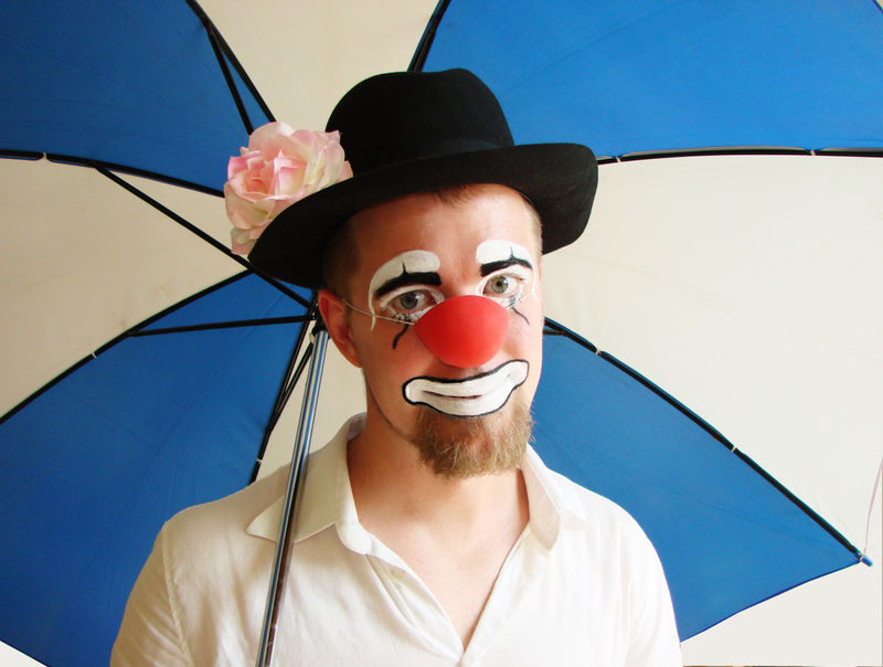Clown Tim Trick - Portrait