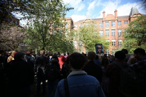 MANCHESTER demo against homophobia